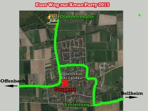 Umleitung Ottersheim