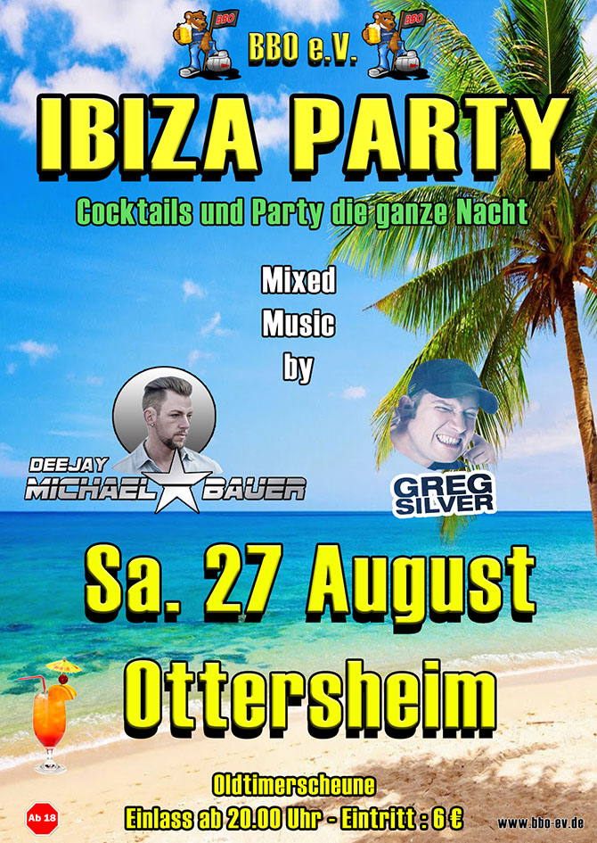 BBO Ibizaparty Ottersheim