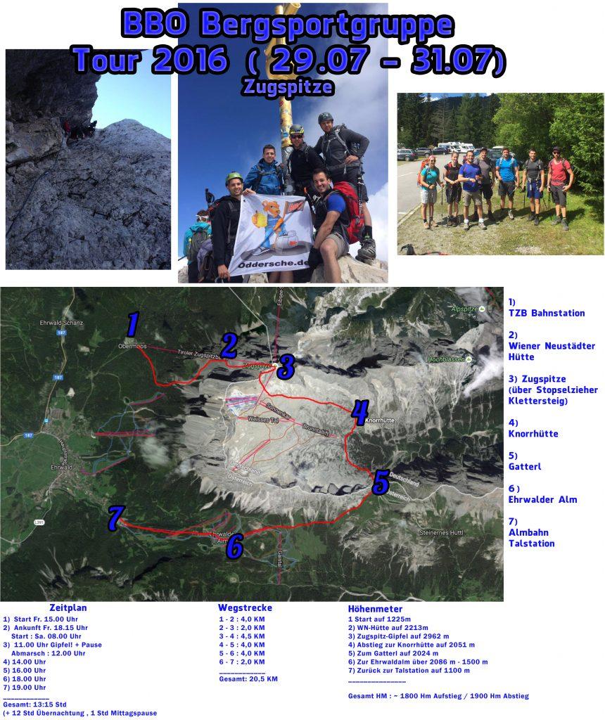 Bergsportgruppe 2016